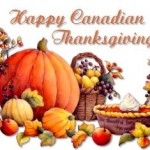 This weekend is the Canadian Thanksgiving weekend
