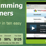 Ruby Programming for Beginners – 50% off until Monday Jan 16th, 2012