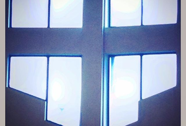 Cross Church Windows