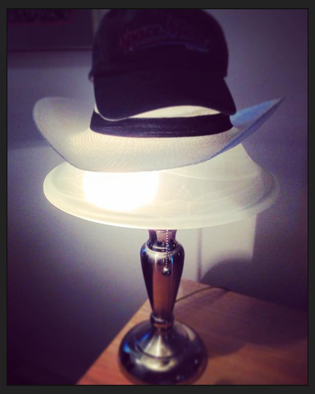 Lighted Triple Hat