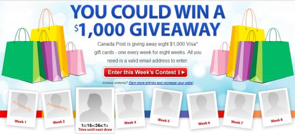 to - Visa Gift Card Canada