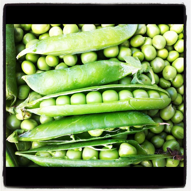 Some peas smiling :)