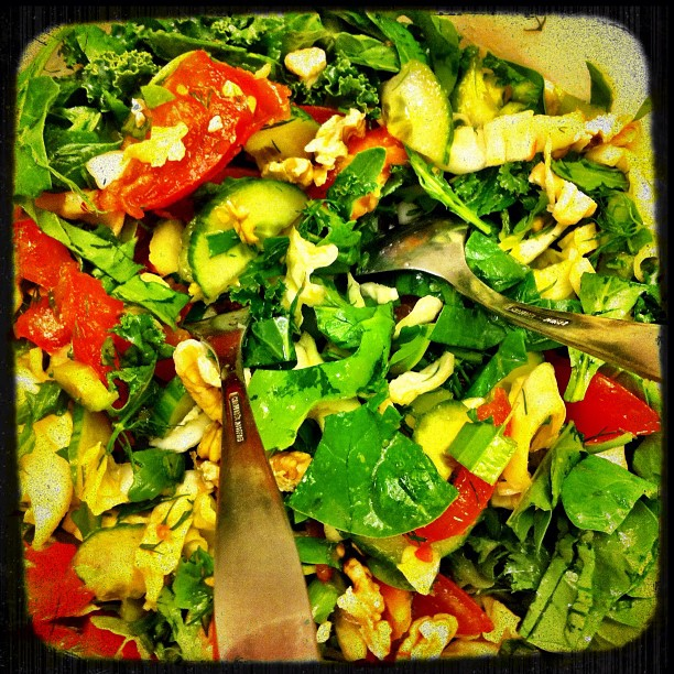 More salad