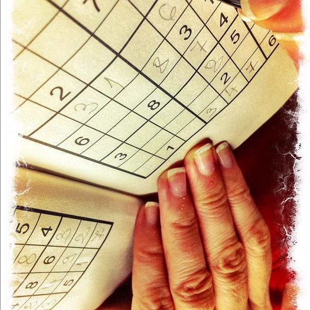 Hand sudoku