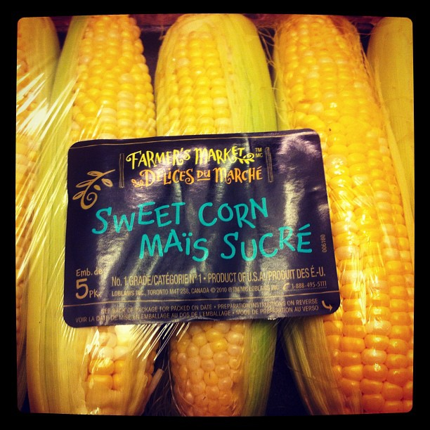 What about some sweet corn?