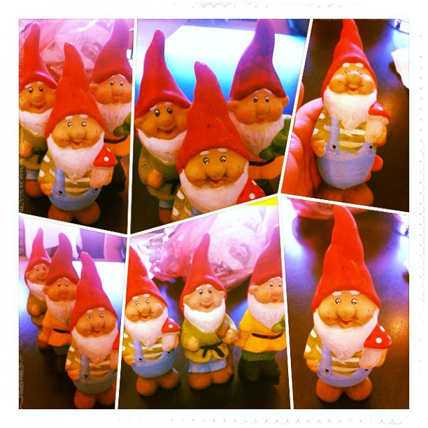 The seven dwarfs ... in a set of three!