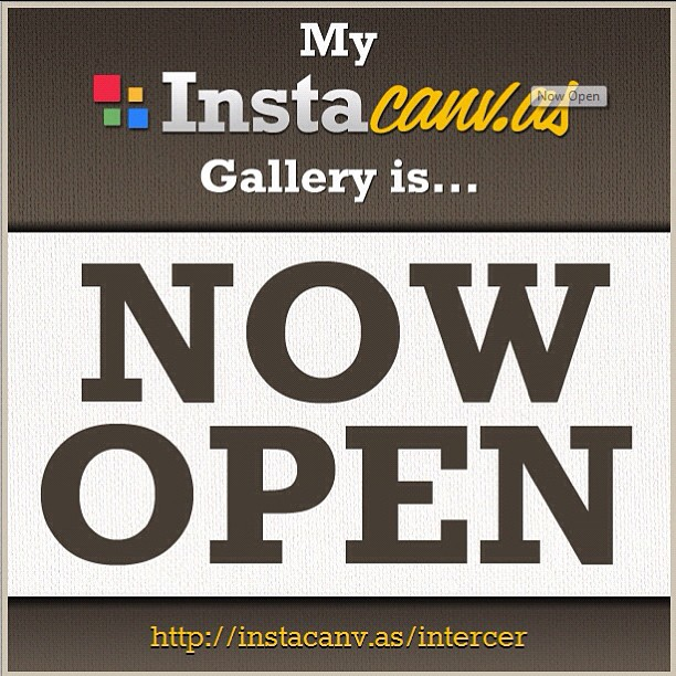 My instacanv.as gallery is now open! View or buy our photos