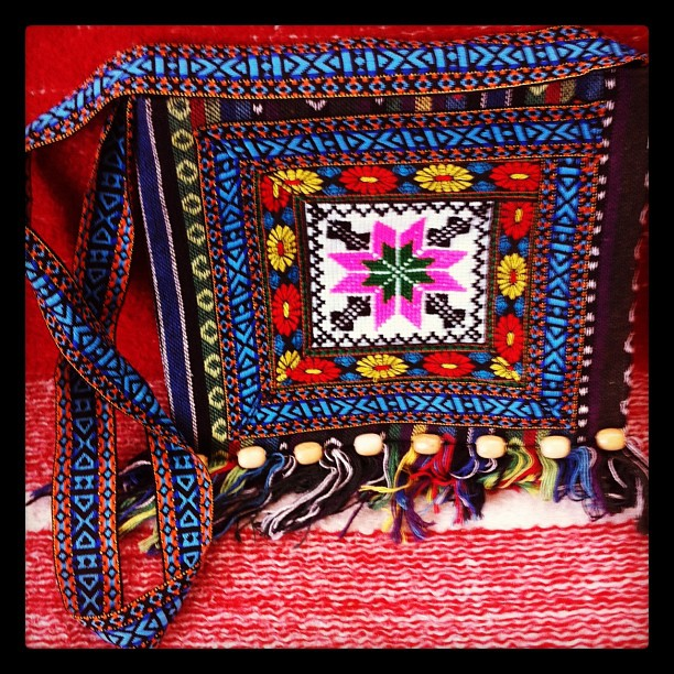 Bag crafts of Maramures, Romania