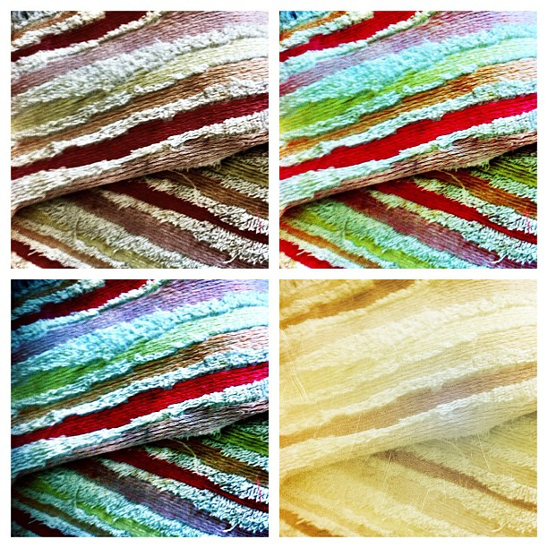 Romanian traditional handmade towel - more colors