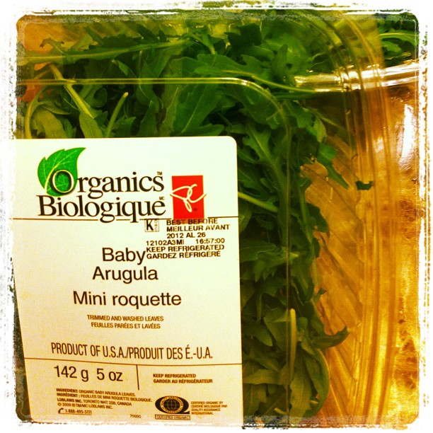 Baby aragula - mini roquette. Never miss it in your salads!