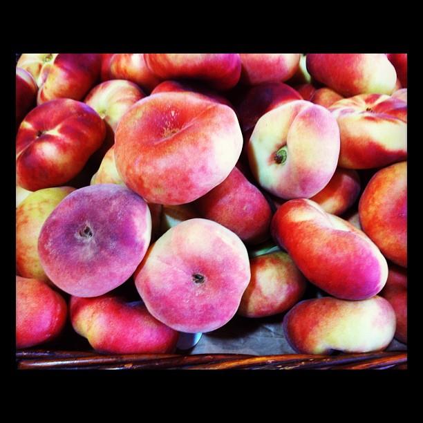 Donut peaches! Interesting, right?
