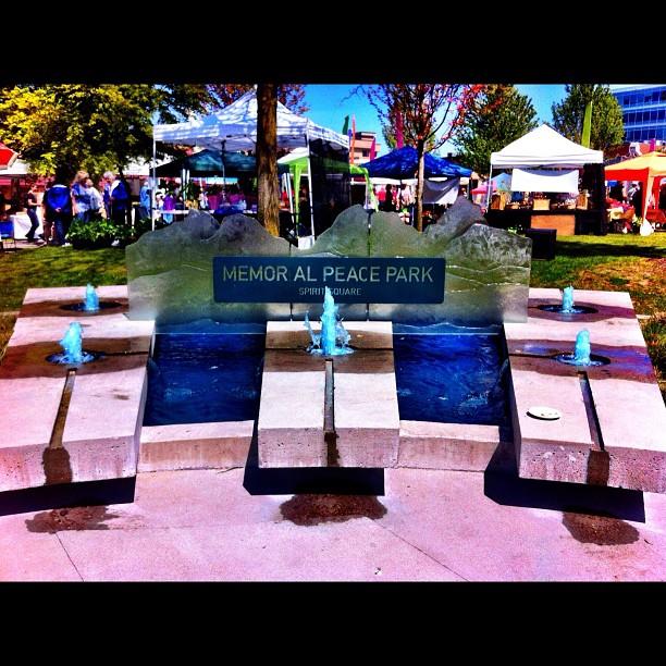 Memorial Peace Park - Spirit Square, Maple Ridge