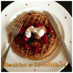Breakfast-at-SilverHills.ca-intercer-health-pancake-waffles-strawberry-fruits-veggie-veggies-canada-