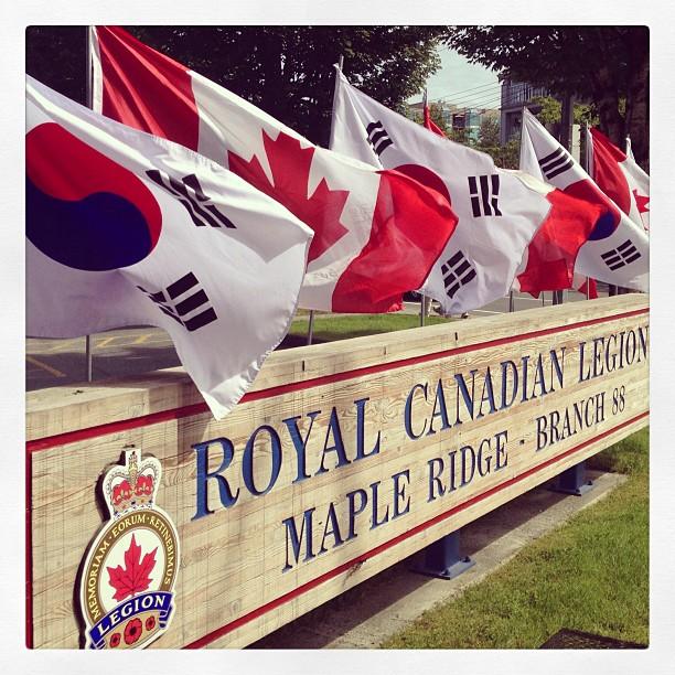 Korean-Canadian War Veterans Celebration - Royal Canadian Legion, Maple Ridge