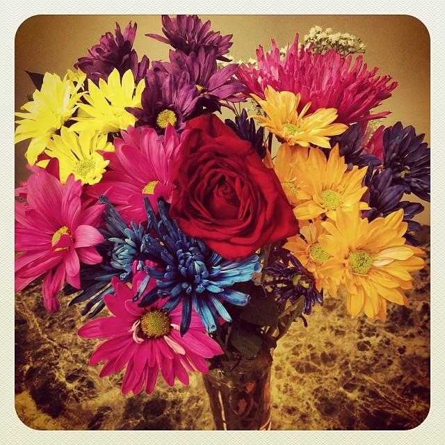 Flowers for International Women's Day