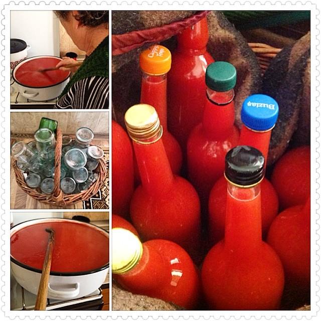 Romania - How to make tomato broth tomatoes
