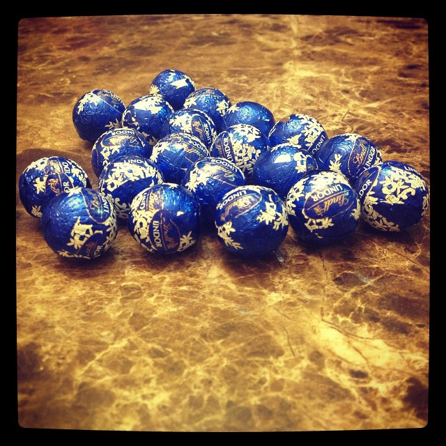 Lindt Chocolate Spheres