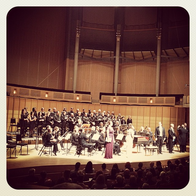 Theodora Oratorium by Handel at Chan Center for Performing Arts, Vancouver, BC