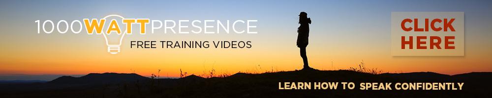 Alexa Fischer - 1000 Watt Presence - Free Training Videos