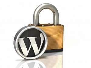 Lock Icon: WordPress