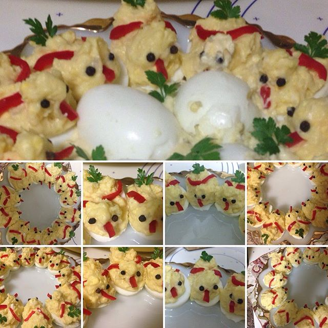 Deviled eggs chicks club