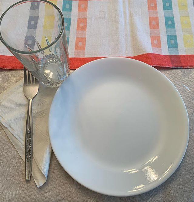 A clean slate/plate