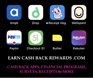 Earn Cash Back Rewards Today!